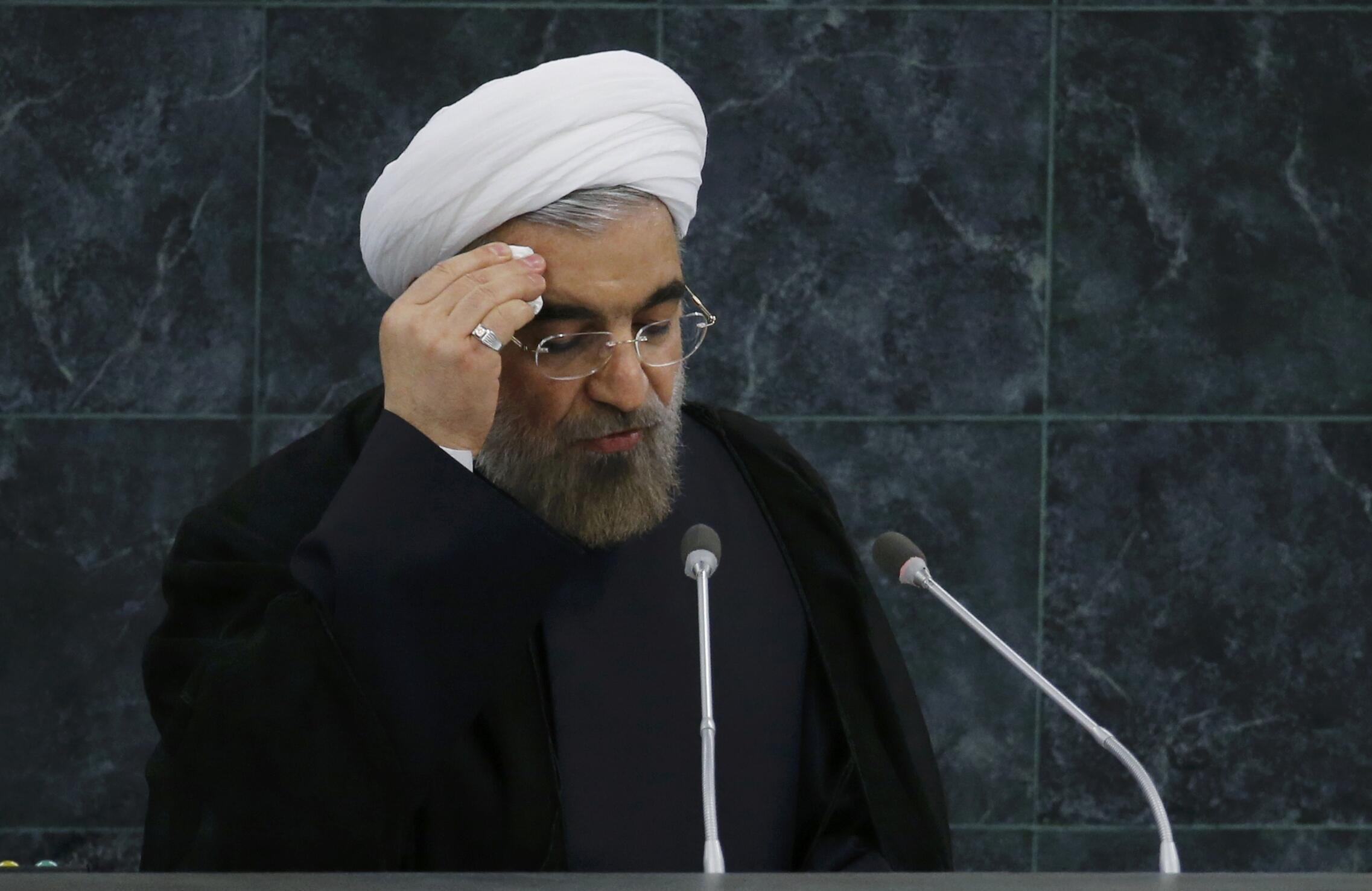 حسن روحانی در سازمان ملل