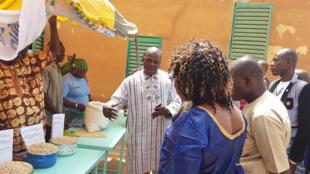 Nicodème Pikbougoum, qui est chef du projet Claphi,  de l'association Groupe de recherche et d'actions pour le développement, en abrégé GRAD