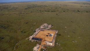 Exploitation de pétrole en Ouganda près des chutes Murchison. (image d'illustration datée de 2010)