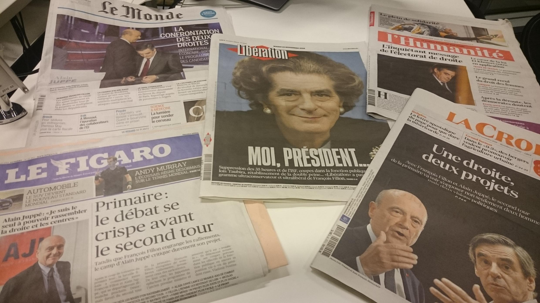 Diários franceses 22.11.2016