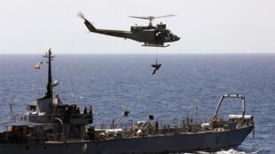O Contra-Almirante brasileiro Luiz Henrique Caroli vai chefiar a missão no Líbano