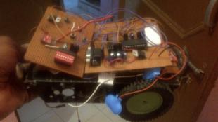 Un robot créé par Keyta Betofe, étudiant congolais en Inde.