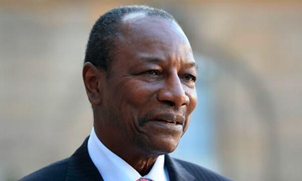Le président guinéen Alpha Condé.