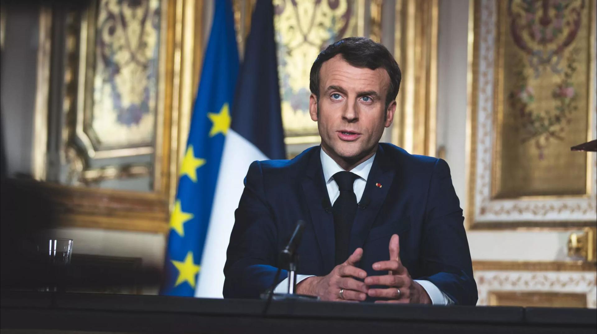 2020-04-15 france president emmanuel macron elysee palace