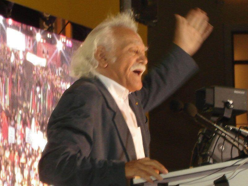 Manolis Glezos en 2007.
