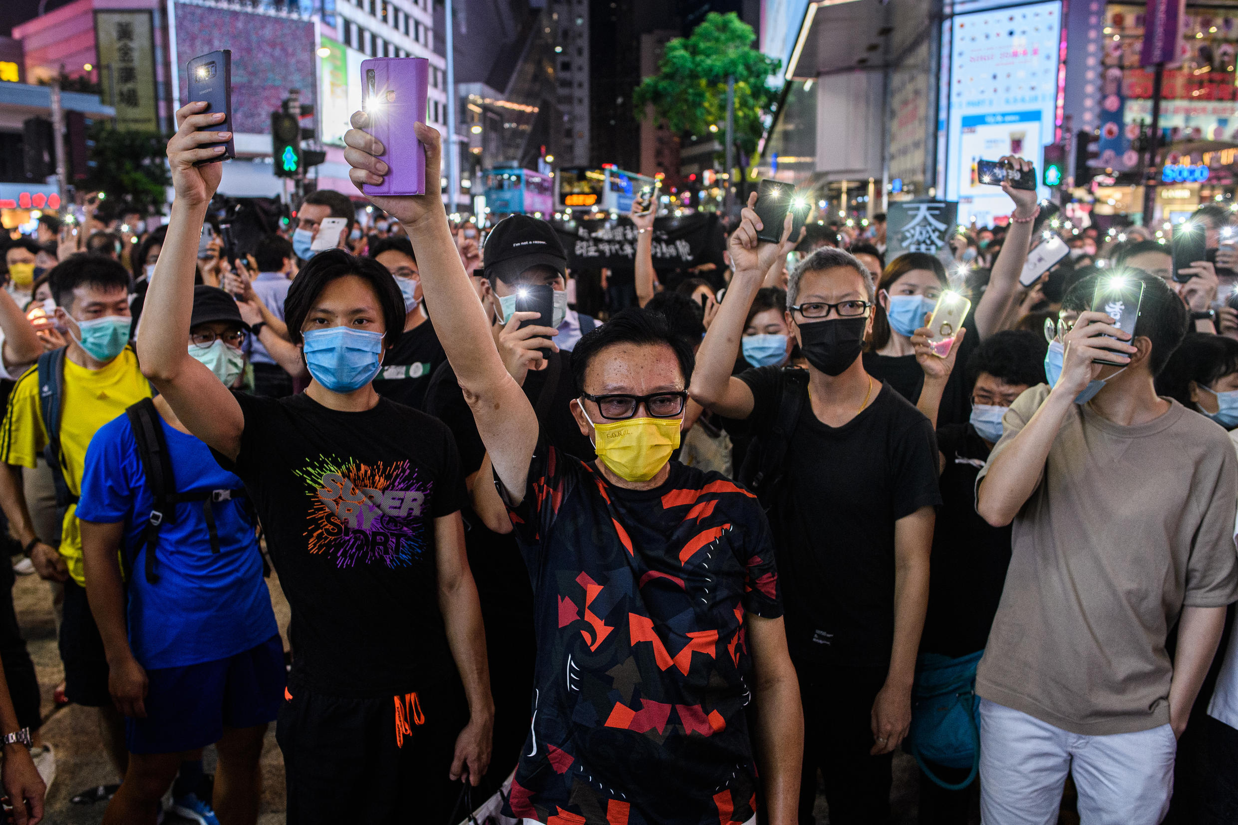China's new security law in Hong Kong came after the city was shaken by massive pro-democracy protests.