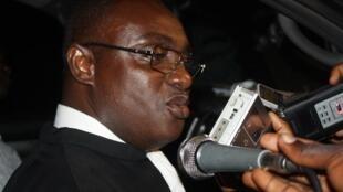 Maitre Rustico Lawson-Bankou, avocat de Loïk Le Floch-Prigent.