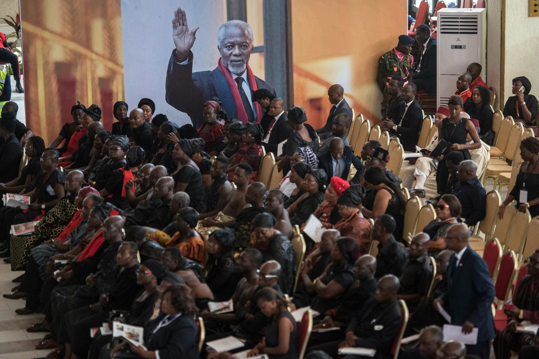 Le Ghana enterre ce jeudi son héros, Kofi Annan, l'ancien secrétaire général des Nations unies.