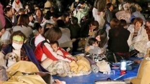 日本九州熊本县发生6.5级地震。2016-04-14