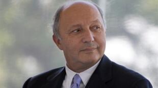 O ministro das Relações Exteriores, Laurent Fabius.
