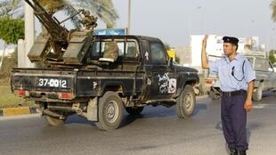 The rebel held town of Misrata
