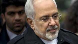 """O ministro das Relações Exteriores do Irã, Mohammad Javad Zarif, vê """"progressos significativos"""" nas negociações."""