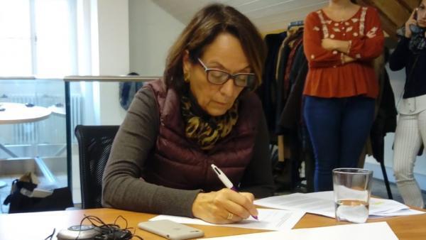 Laura Greenhalgh, diretora-executiva da Comissão Arns.