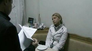 Юлия Тимошенко в Качановской колонии выслушивает новые обвинения, выдвинутые против нее 18/01/2013