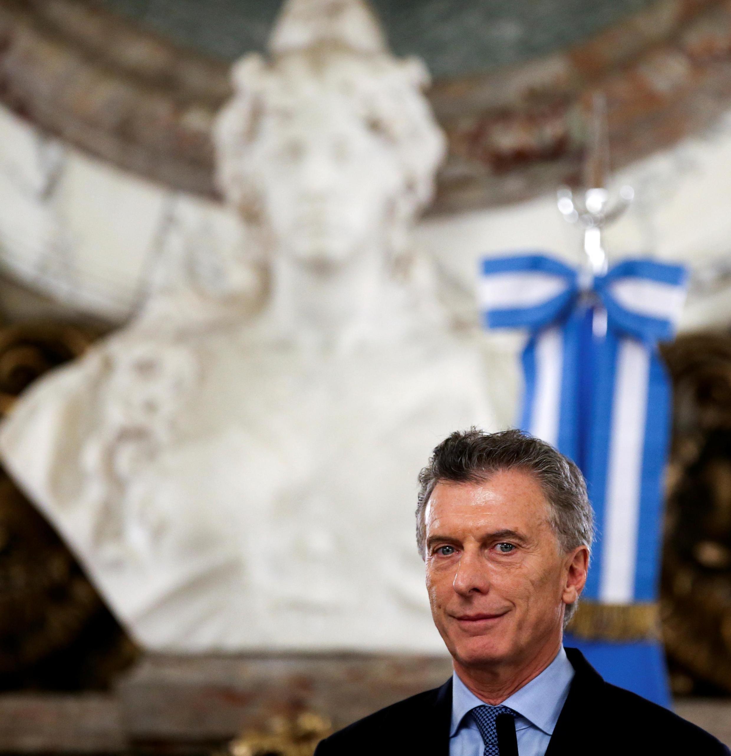 O presidente argentino, Mauricio Macri, é candidato à reeleição.