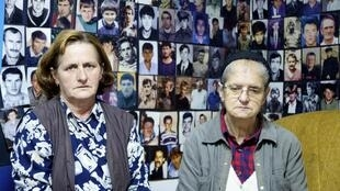 Nura Begovic et Hajra Catic, dans les locaux de l'association des femmes de Srebrenica.