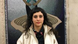A diretora do espetáculo Quando Quebra Queima, Martha Kiss Perrone