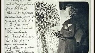 Séraphine de Senlis no Museu de Maillol em Paris