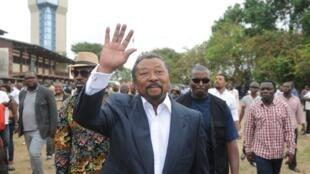 Mpinzani mkuu nchini Gabon, Jean Ping, Agosti 27, 2016 mjini Libreville.