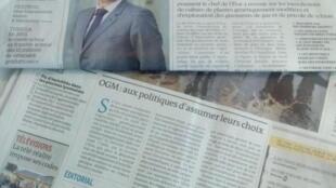 Le Monde e Le Figaro estampam questão dos transgênicos em suas capas