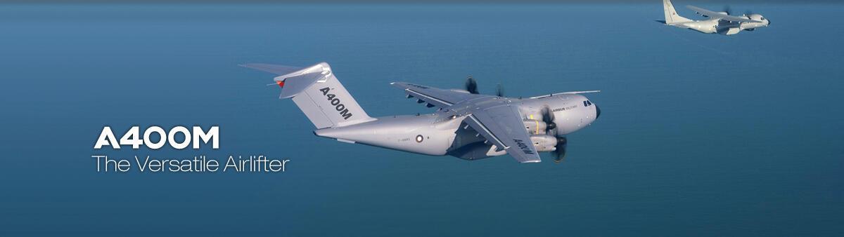 Máy bay vận tải quân sự khổng lồ A400M