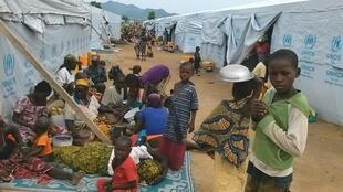 Wasu 'yan Najeriya da rikicin Boko Haram ya tilastawa tserewa zuwa Kamaru.