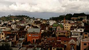 Vue de la ville d'Antananarivo (illustration).