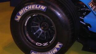 A Michelin F1 tyre