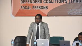Onesmo Ole Ngurumwa ni mwanaharakati kutoka Tanzania, aliyeshiriki Mkutano wa 63 wa haki za binadamu barani Afrika, uliomalizika hivi karibuni nchini Gambia