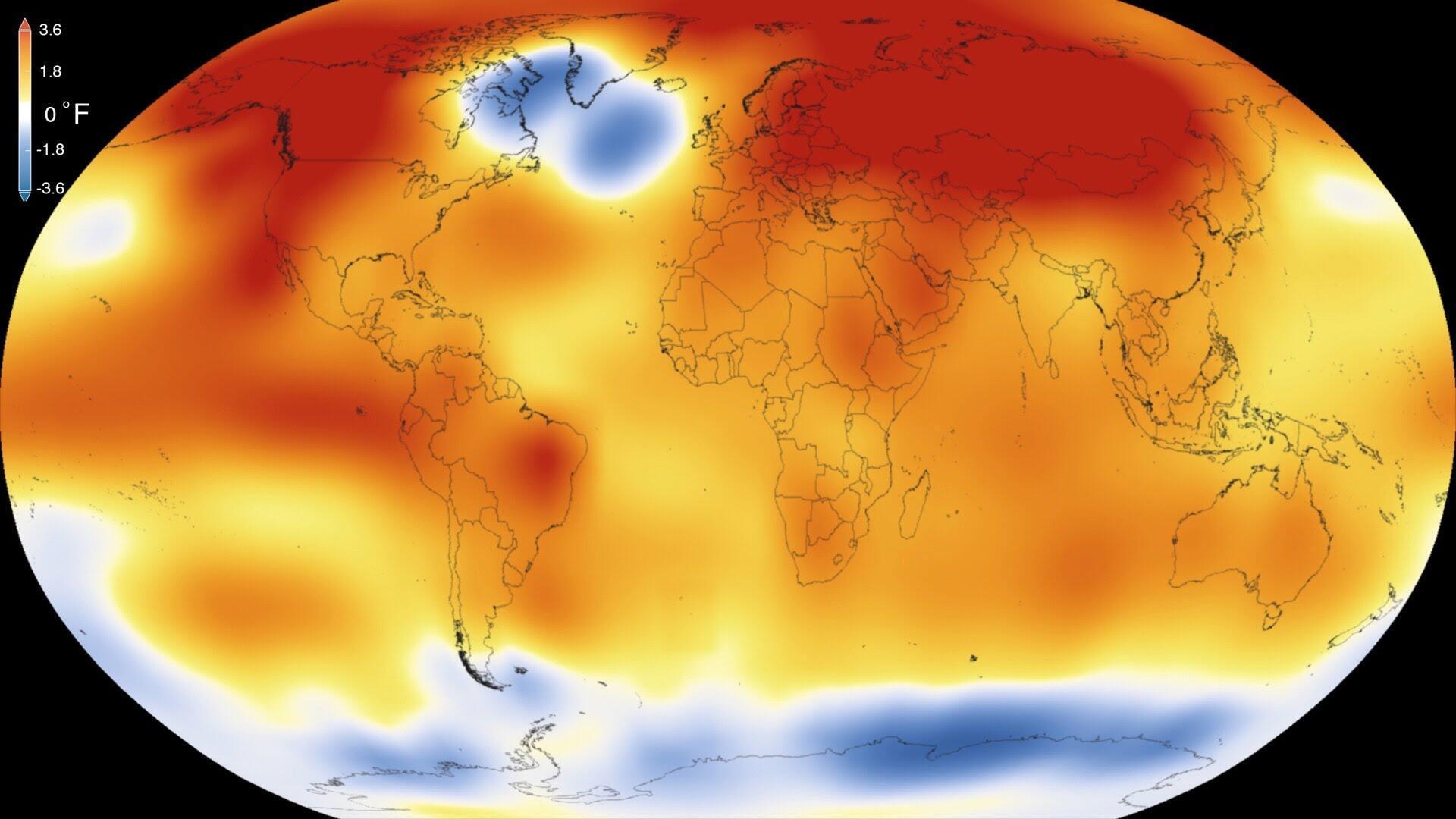 گرمایش زمین - تصویر آرشیوی