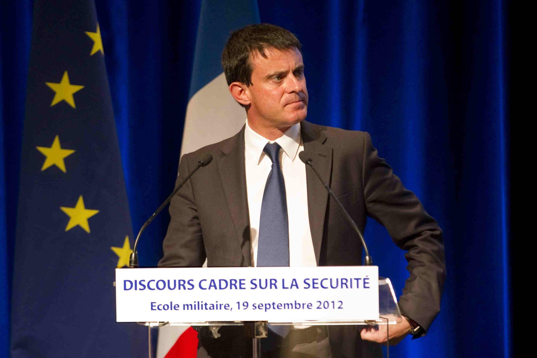 O ministro do Interio da França, Manuel Valls.