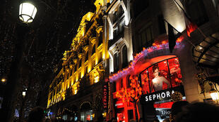 Sephora on the Champs-Elysées Avenue in Paris.