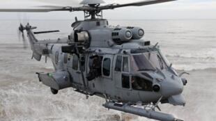 歐洲空客集團生產的獰貓軍用直升機