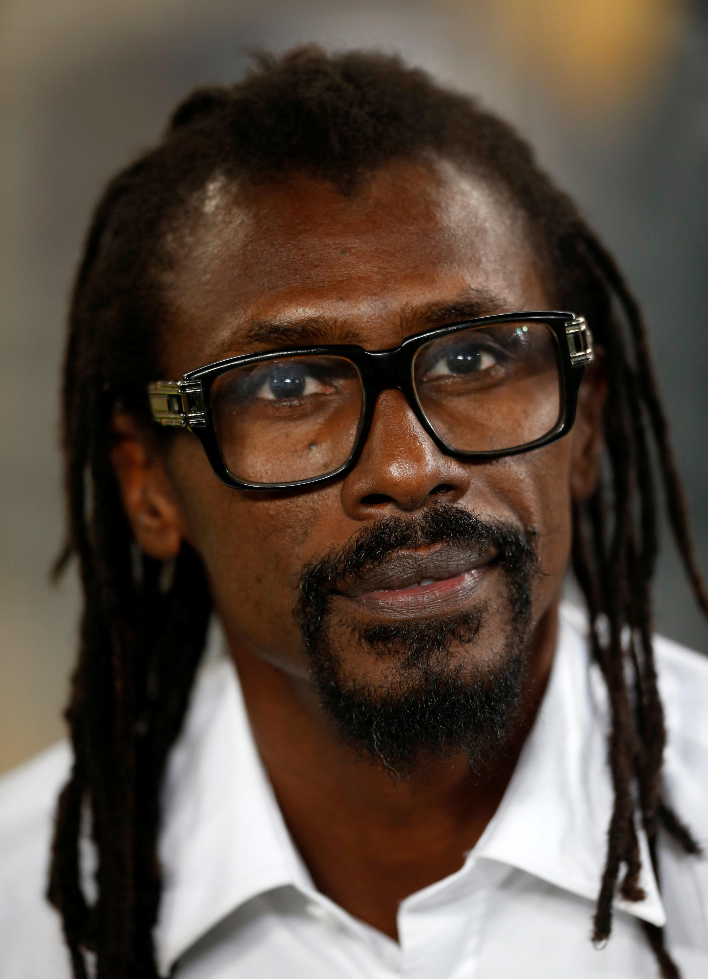 Senegal coach Aliou Cissé was skipper of the last national side to play at the World Cup.