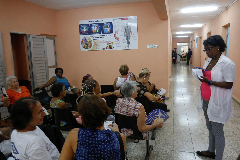 Ảnh minh họa : Một trung tâm y tế ở La Habana, Cuba, ngày 14/11/2018.