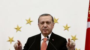 Le président Recep Tayyip Erdogan, à Ankara, en septembre 2016.