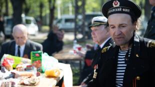 Празднование Дня Победы в Риге 9 мая 2019 г.