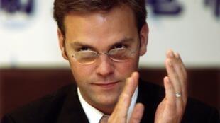 La place de James Murdoch, le fils de Rupert Murdoch, à la tête de BSkyB est remise en question, le 28 juillet 2011.