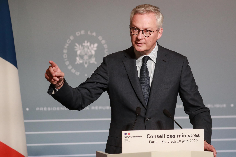 法國經濟部長布魯諾·勒梅爾 (Bruno Le Maire)