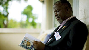 Prince Johnson in Monrovia, June 2009.