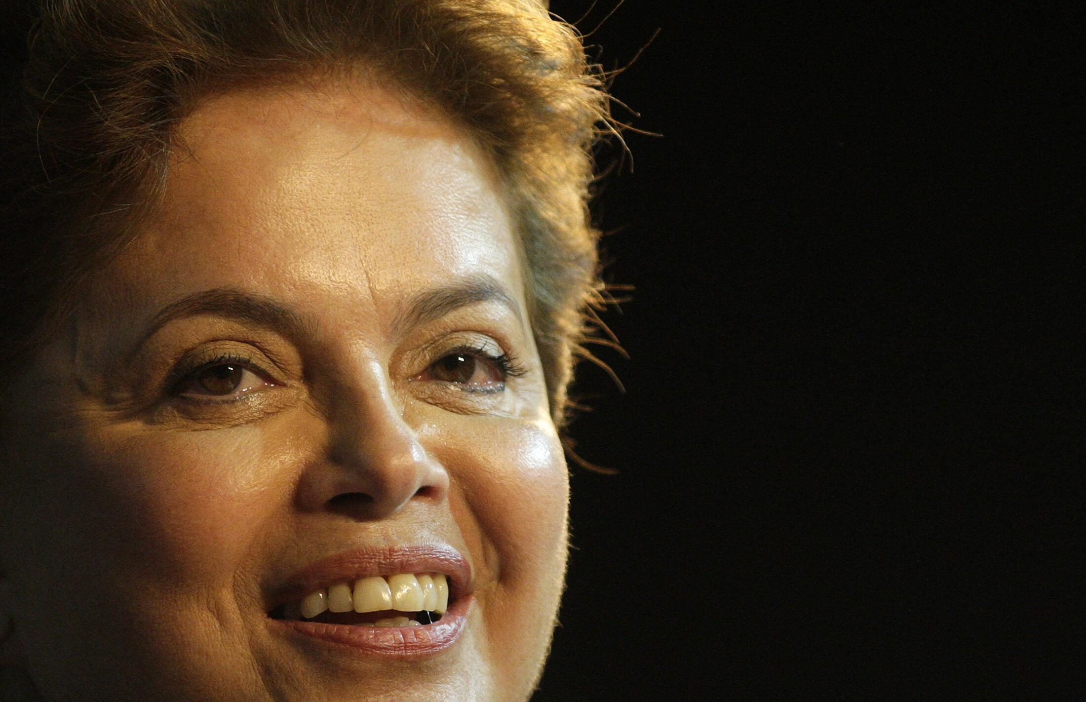 Brazil's new female president Dilma Roussef