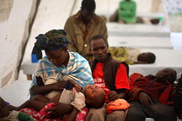 Des patients soignés par l'ONG Médecins sans frontières en RDC en 2008. (Image d'illustration)