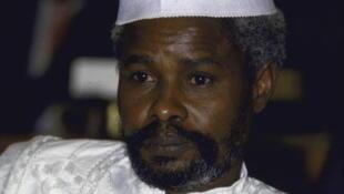 Hissène Habré, ancien président tchadien aujourd'hui réfugié au Sénégal.