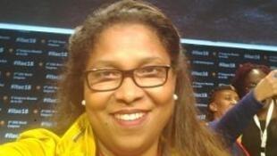 Secretária-geral da União Nacional dos Trabalhadores de Cabo Verde – Central Sindical (UNTC-CS), Joaquina Almeida