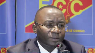Néhémie Mwilanya, directeur de cabinet du président de la RDC Joseph Kabila, coordonnateur du FCC (capture d'écran).