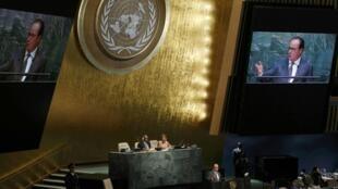 """Para o presidente francês, François Hollande, Bashar al-Assad é """"o problema"""" na Síria."""
