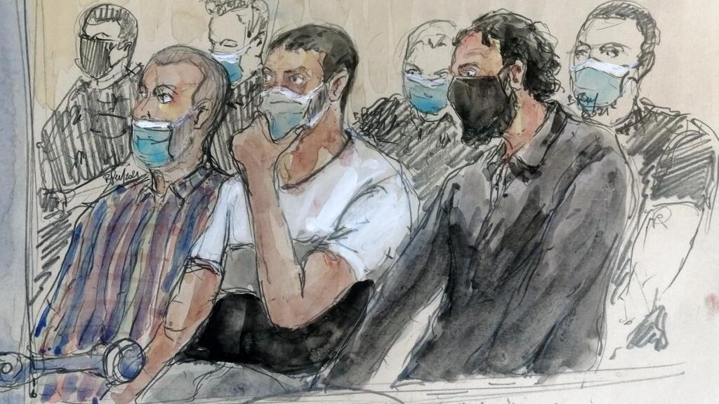 The voices of the accused are heard at the Paris November 2015 terror trial