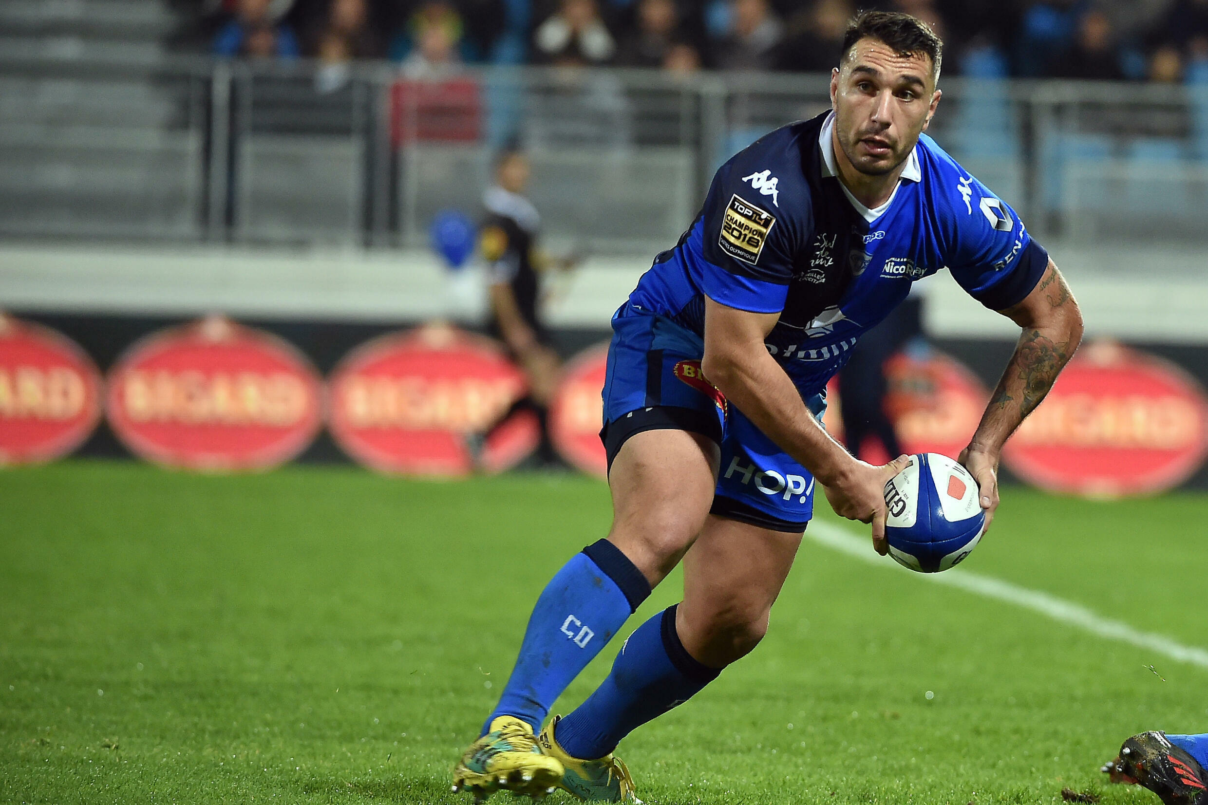 Ludovic Radosavljevic won the French Top 14 with Castres in 2018
