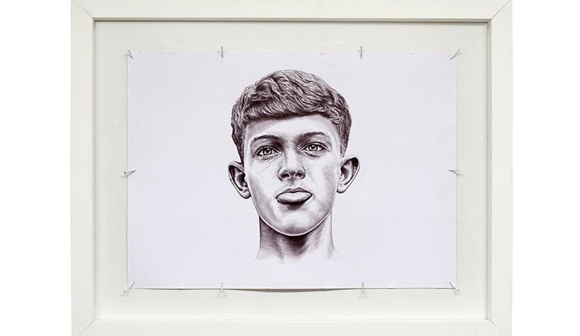 L'oeuvre «THE KID» de l'artiste Charly Gosp.