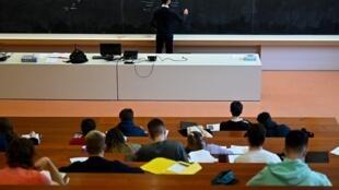 Des étudiants à l'Université de Rennes